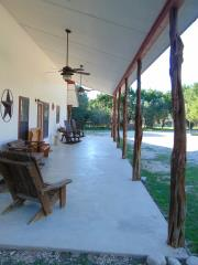 Villa Muniz wide front porch